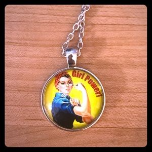 Rosie the Riveter Necklaces- Girl Power!